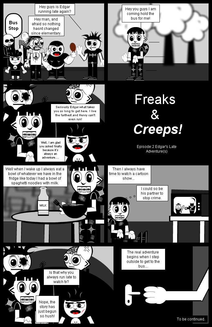 Freaks & Creeps! Ep:2 pt1