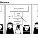 Merry.....Umm.....Halloween.....