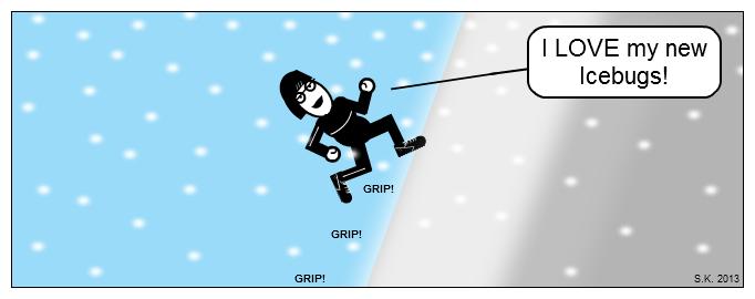 Cartoon: Shoes got a grip