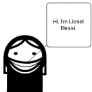 17/03/2010 - Lionel Messi: Clown-Maker.