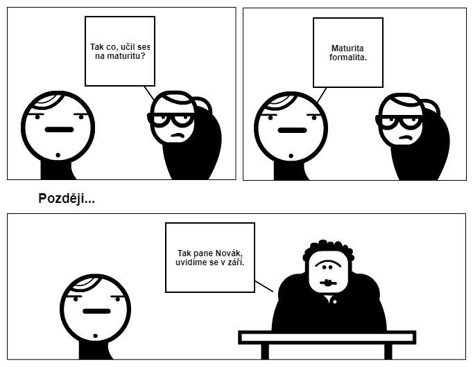 maturita formalita