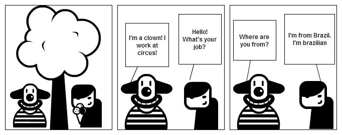 Little conversation