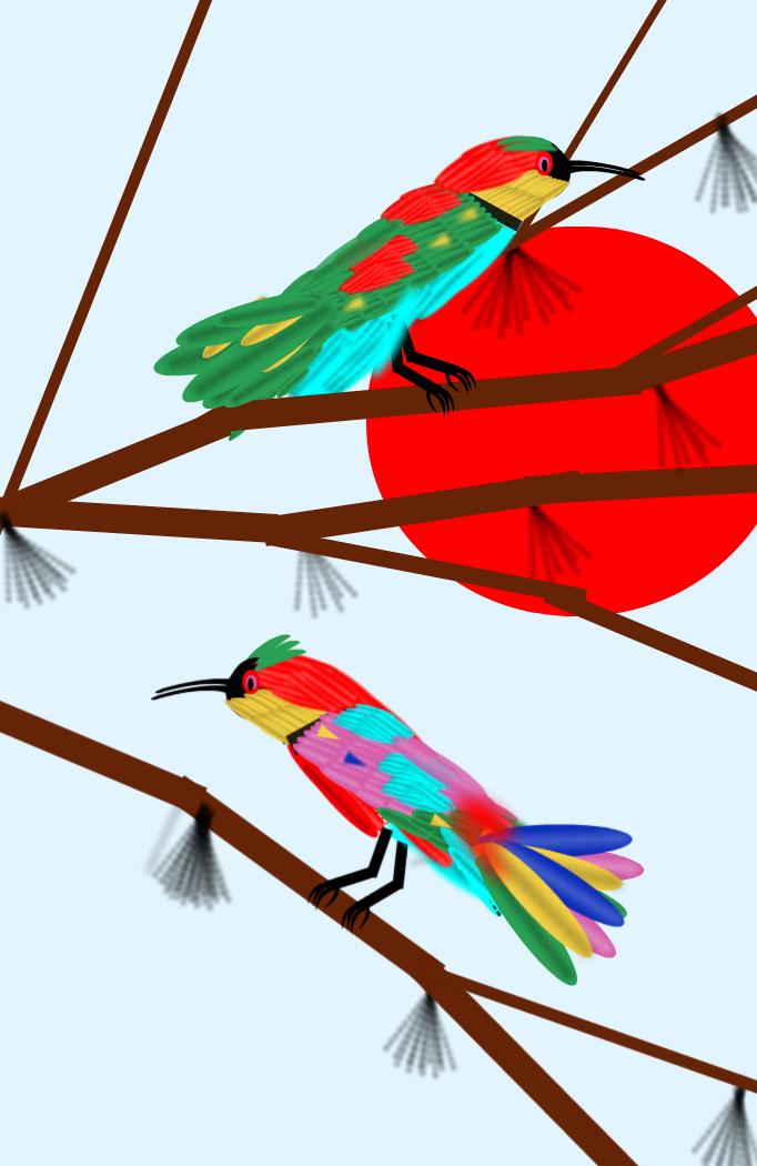 erlatxori arraroak  /  odd bee-eaters