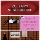 Zoltar's merchandise