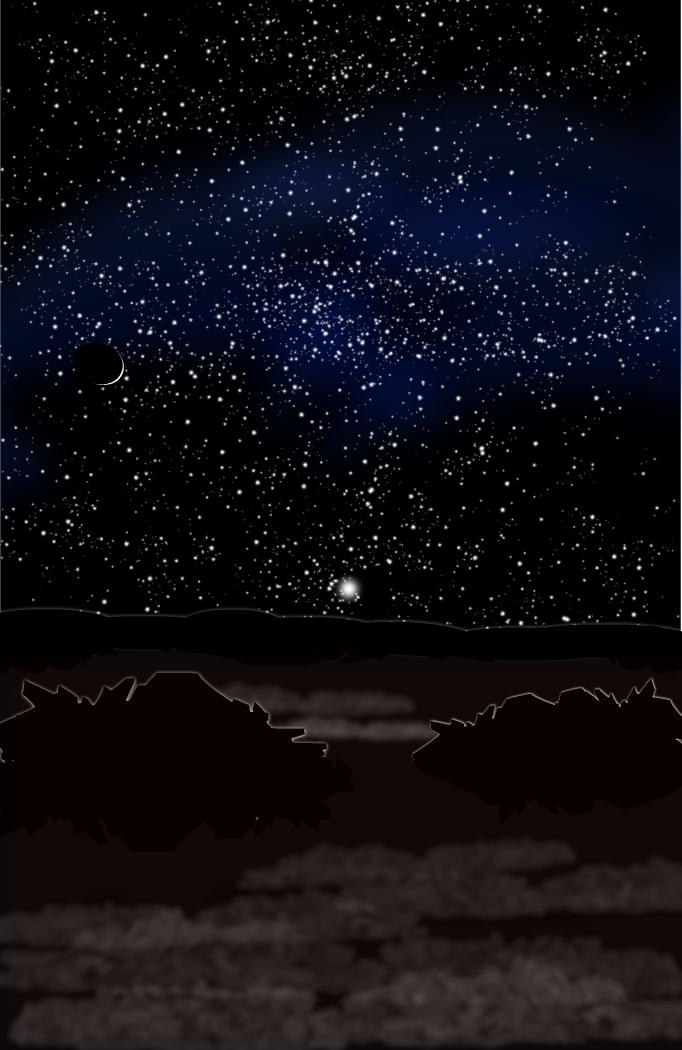 Sunrise on Pluto