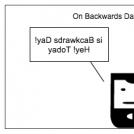 yaD sdrawkcaB