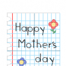 Happy mother´s day.