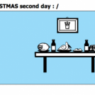 It continues ! CHRISTMAS second day : /