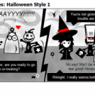 Vampyressa Chronicles: Halloween Style 1