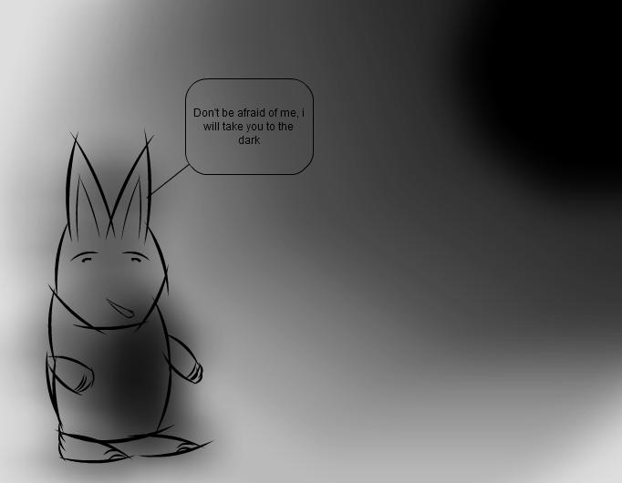 Contraddiction - the evil bunny
