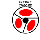 Google chrome en rojo