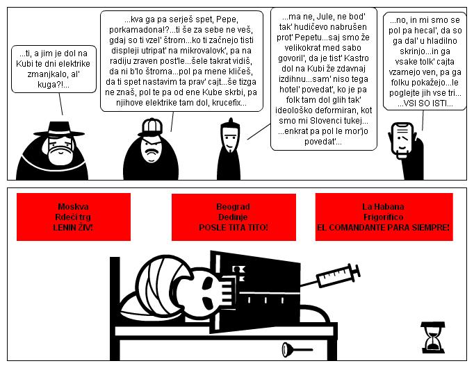 Comunismo=electrificacíon+el poder de dictador...*