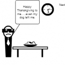 Obi Brown Series Strip 3: Thanksgiving