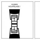 Human Hourglass
