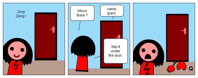 Anti Candy gram...