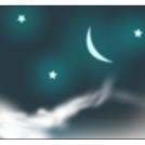 Sky, Moon and Stars