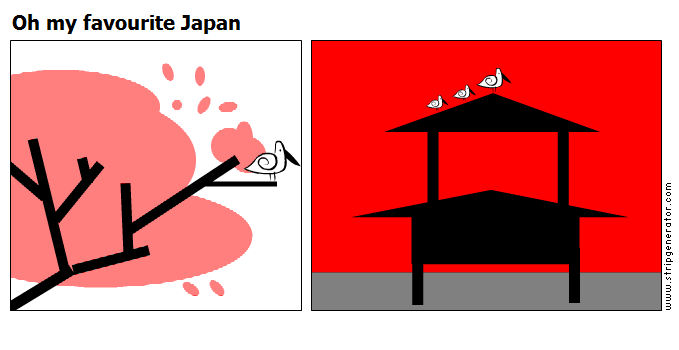 Oh my favourite Japan