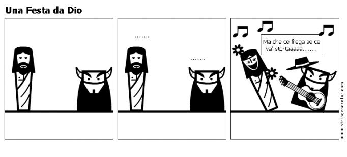 Una Festa da Dio