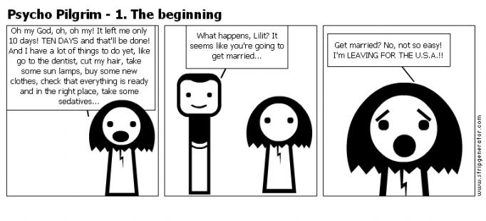 Psycho Pilgrim - 1. The beginning