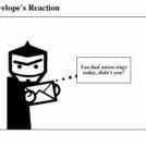 An Envelope's Reaction