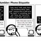 The Tech Support Mumbler: Phone Etiquette