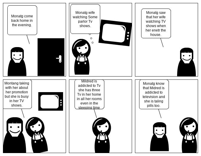 U4L4 Comic strip