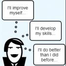 """Be better"" -mindset"