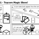 Elevator Comic #111 - Toycore Magic Show!