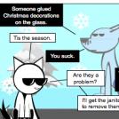 Tis the season to harass Mr.Freeze