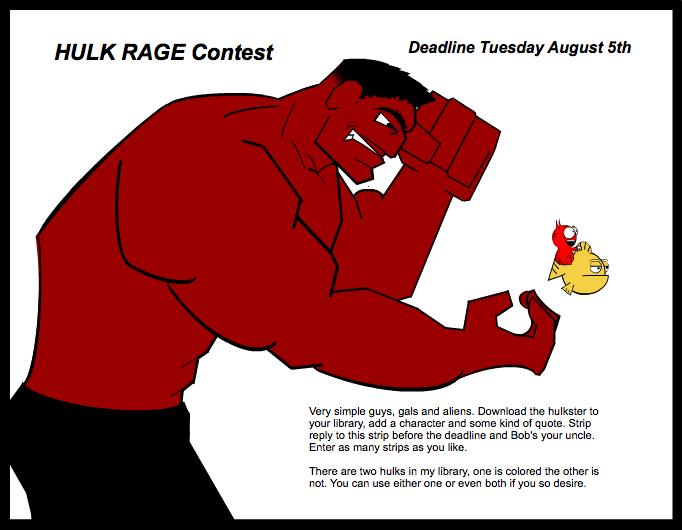 Hulk Rage Contest