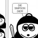 South Cartman vs Bart Simpson