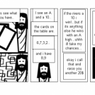 If Jesus played poker