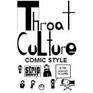 Throat culture comic style cover
