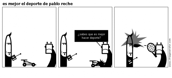 es mejor el deporte de pablo reche