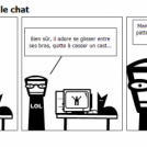 C'est pas moi, c'est le chat