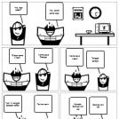 Indonesian comic strip