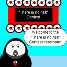 """There is no risk"" Contest ceremony"