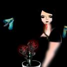 The Vampironique's garden