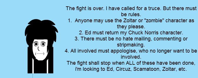 End to the fight, rules to be followed.