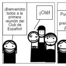 El primer día del club de Español