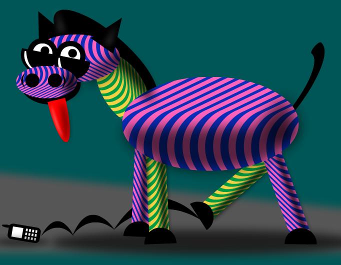 Trippy the Zebra