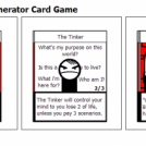 Collectable Stripgenerator Card Game