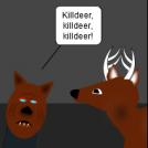 Deer-scare