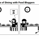 Hazards of Dining with Food Bloggers