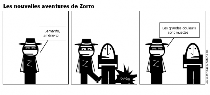Les nouvelles aventures de Zorro