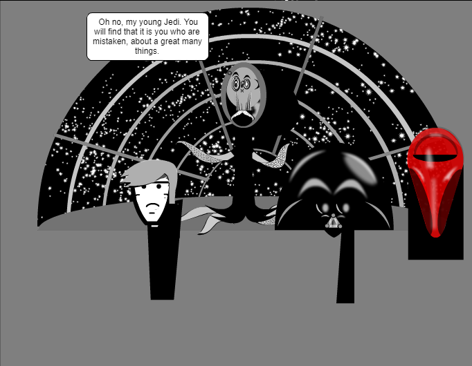 One more Star Wars strip