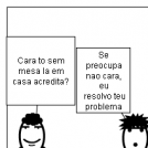 O caso da mesa