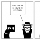 O ninja e o chapéu