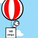 1 400 strips