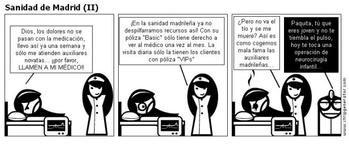 Sanidad de Madrid (II)